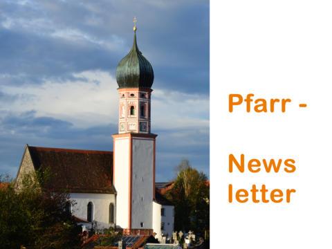 Nochmal expliziter Hinweis auf die Anmeldung zum Pfarr-Newsletter
