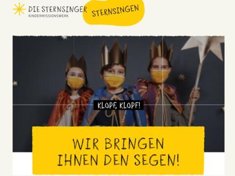 Sternsinger 2021 - Segnung durch Sternsinger via Videobotschaft