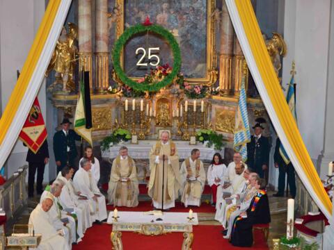 Silbernes Priesterjubiläum Dekan Robert Walter