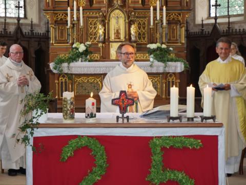 Silbernes Priesterjubiläum von Pfarrer Richard Dick