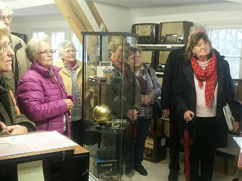 Information im Radiomuseum