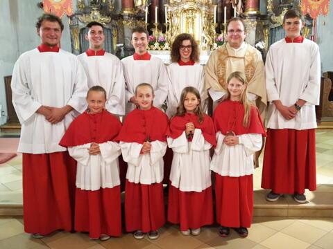 Neue Minis für St. Clemens