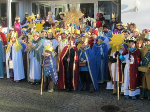 Die Sternsinger von St. Clemens