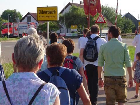 Wallfahrt der PG nach Biberbach