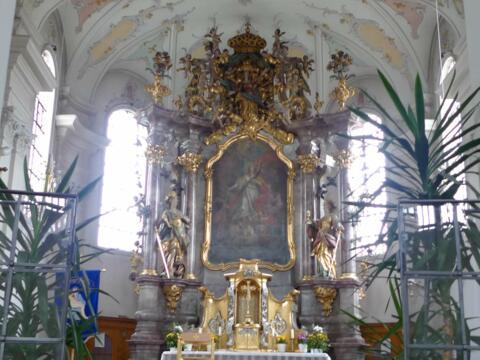Seitenkapelle der Pfarrkirche St. Margaretha