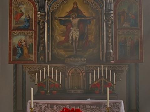Altar in der Spitalkirche