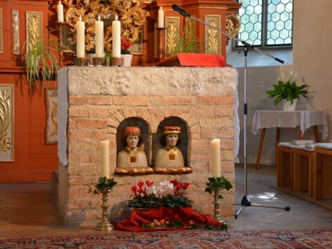 Patrozinium Rauns St. Cosmas und Damian