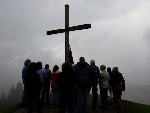 Bergmesse mit der Kolpingfamilie