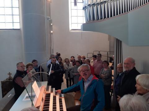 Danknachmittag mit den Orgelpfeifenpaten