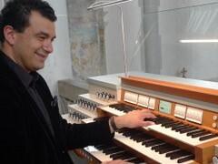 Orgelandacht: Paolo Oreni (Italien) fasziniert im Martinsmünster