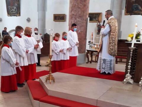 Sechs neue Ministranten für St. Martin!