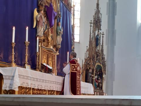 Palmsonntag - Hl. Messe am Hochaltar