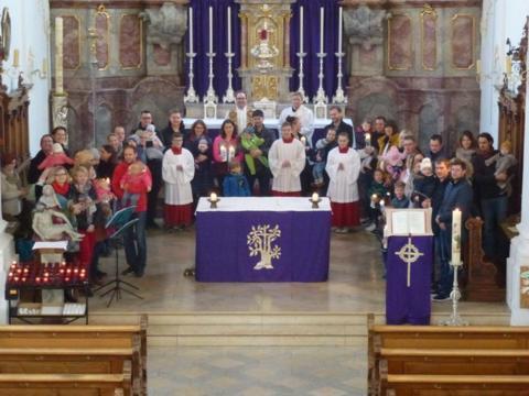 Segnungsgottesdienst für Neugetaufte