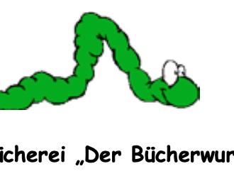 Logo Bücherwurm