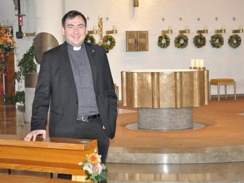 Corona fordert den neuen Pfarrer in Bäumenheim
