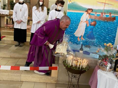50. Geburtstag von Herrn Pfarrer Quintero