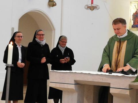 Aussaat im September – drei Ordensfrauen in Mindelheim begrüßt