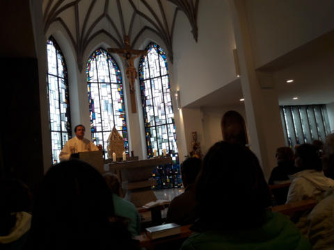 Gottesdienst in der Crescentia Klosterkirche