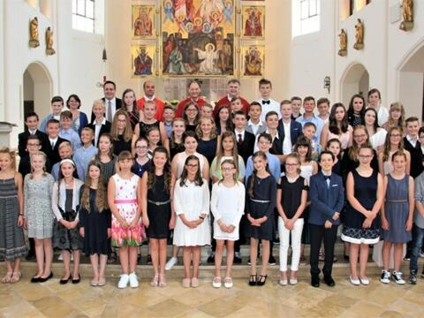 """""""Ihr seid kein Schmierzettel!"""" - Firmung in der Pfarreiengemeinschaft Mindelheim"""