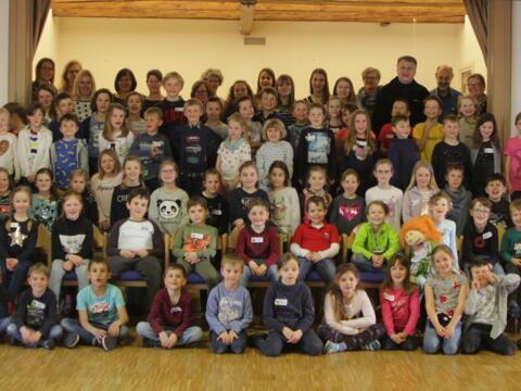 Dank an alle fleißigen Helfer beim Kinderbibel-Wochenende und an die Kinder für die Teilnahme.