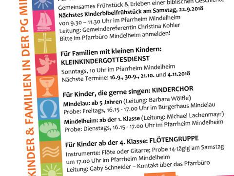 Plakat zu den Aktionen im Herbst 2018
