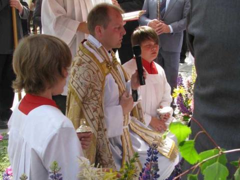 Weihbischof Wörner kommt zur Visitation