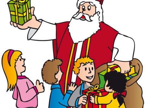 Sankt Nikolaus kommt
