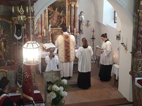 Amt in St. Stephan und Magdalena in Tegernbach