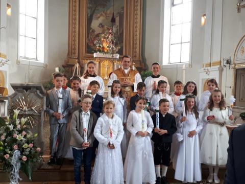 Erstkommunion in St. Martin, Baindlkirch