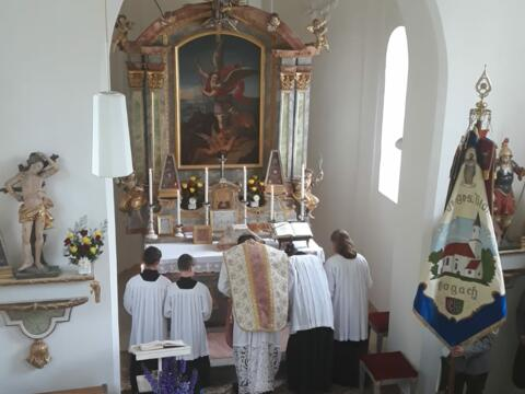 Patrozinium in St. Johannes, Vogach