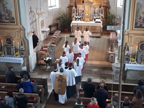 Patrozinium in St. Martin, Baindlkirch