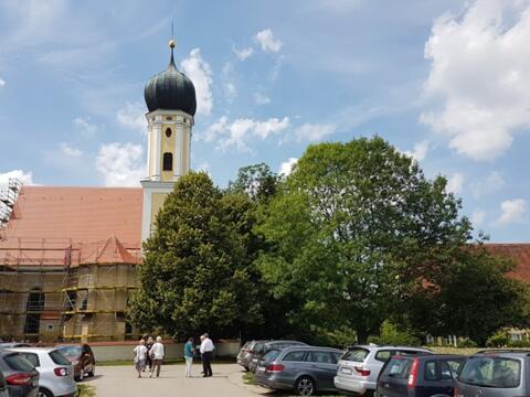 Die Wallfahrtskirche Maria Kappel in Schmiechen