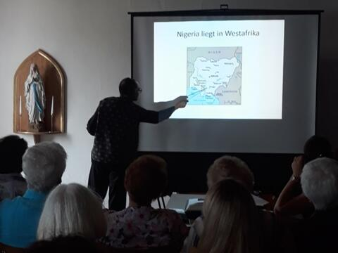 Vortrag von Pfr. Felix über Nigeria