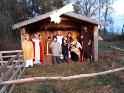 Waldweihnacht beim Klostergut Rettenbach