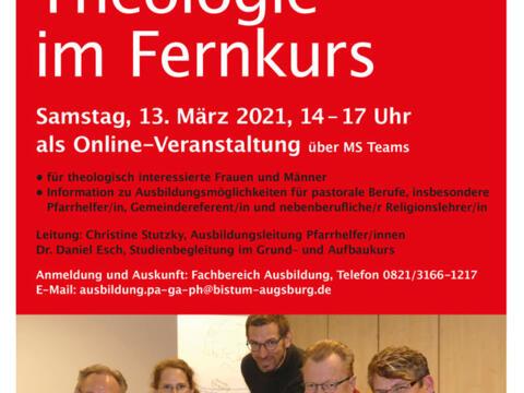 Informationstag Theologie im Fernkurs