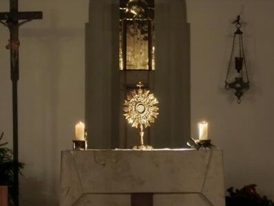 Gebetskreis in Ettensberg
