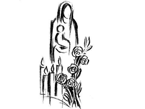 Auflösung der Mariendarstellung vom 31. Mai
