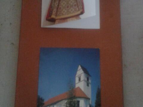 Dachziegel von der Aureliuskirche