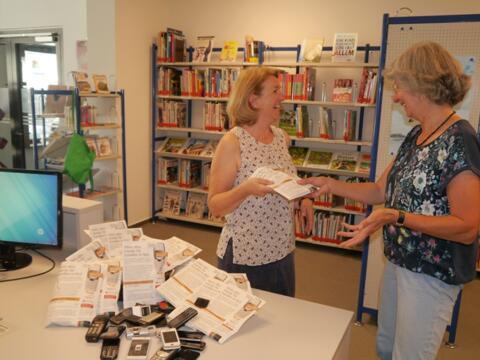 Die Kolpingsfamilien Lindenberg und Scheidegg rufen zu Handyspenden auf