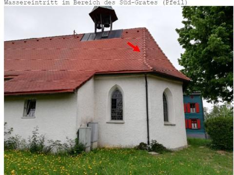 Renovierung Marienkapelle in Lindenberg