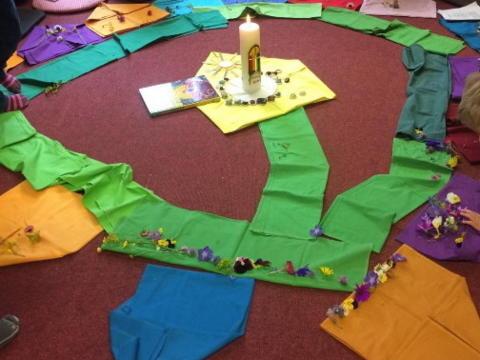 Kindergottesdienst in Scheidegg