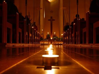 Pfarrkirche Maria Heimsuchung im Advent