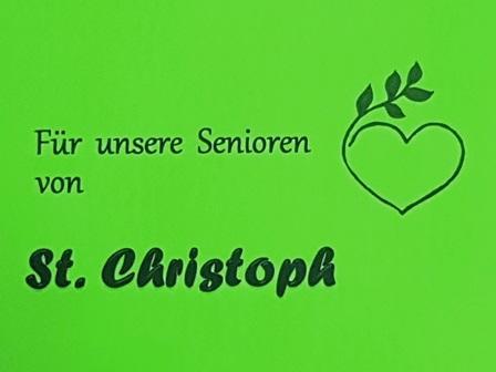 Seniorennachmittag in St. Christoph