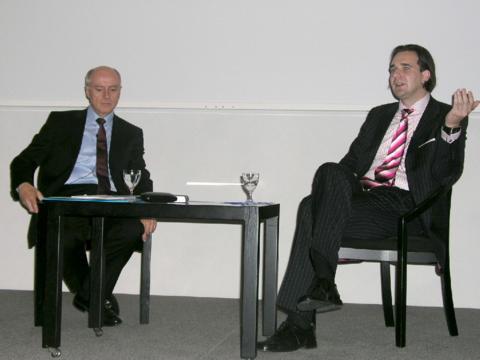 Im Gespräch: Prof. Dr. Adalbert Keller und Dr. Tobias C. Haupt