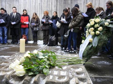 Gedenkstätte für die Weiße Rose im Gefängnis München-Stadelheim