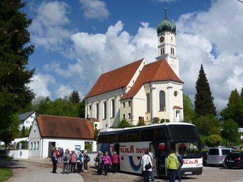 Bericht von unserer Seniorenwallfahrt nach Kirch-Siebnach am 6./7./8.5.2019