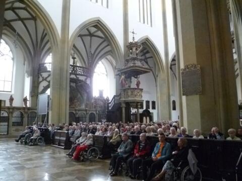 Bericht zum Gottesdienst der älteren Generation am 9.7.2019  im Rahmen der Ulrichswoche