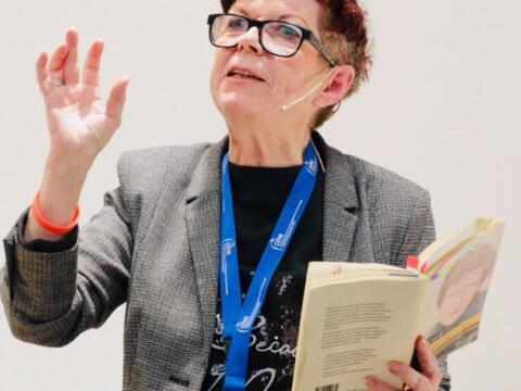 """Bericht zum Vortrag """"Ja, zum Leben mit Demenz"""" mit Helga Rohra"""