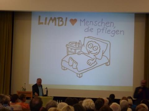 """Dankeschön-Veranstaltung zum Tag der Pflege am 23.5.2017 mit Werner """"Tiki"""" Küstenmacher"""