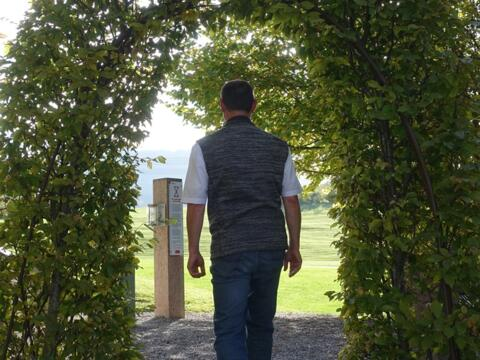 Unterwegs in die Rente - Auf dem Meditationsweg in Nesselwang